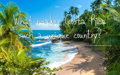 What makes Costa Rica such a unique country?