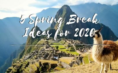 Top 5 alternative Spring Break Ideas for 2020